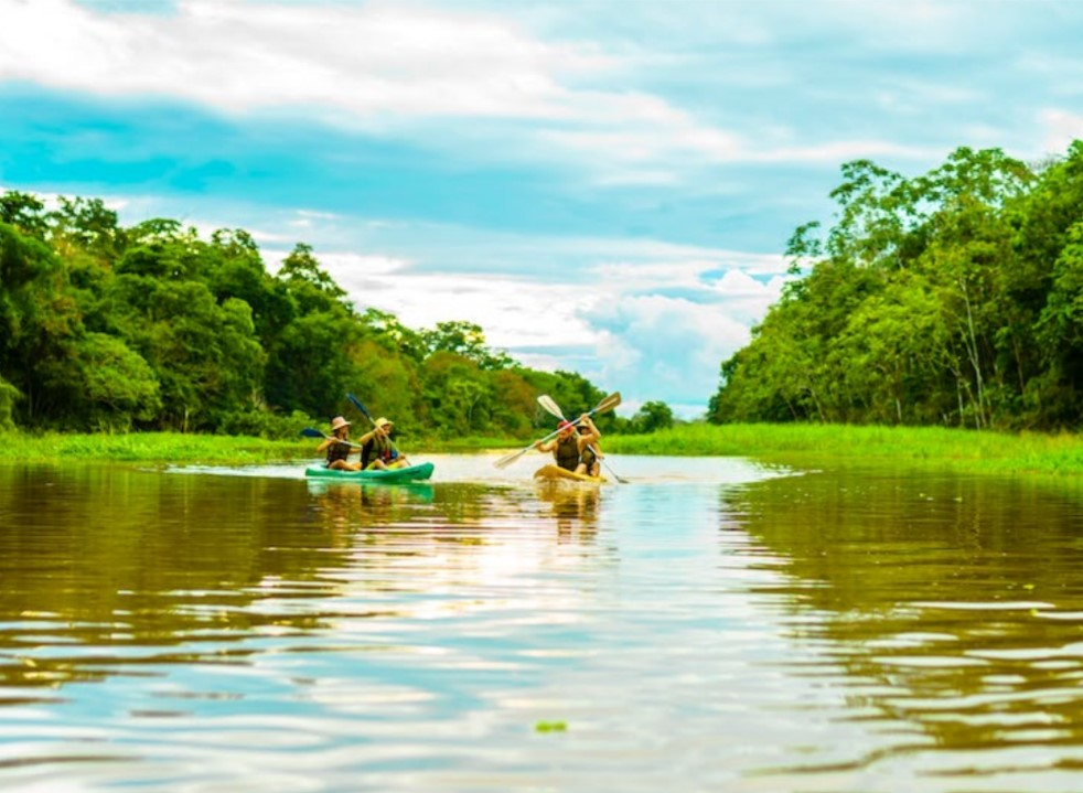 On Vacation - Amazonas