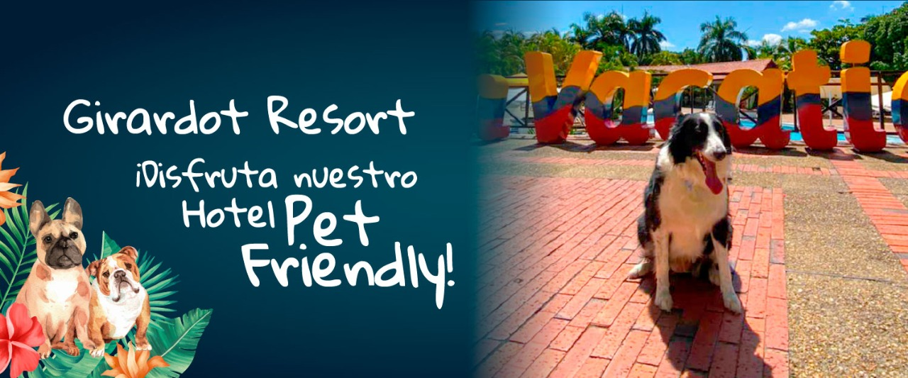 ON VACATION - HOTEL GIRARDOT- PET FRIENDLY