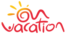On Vacation Logo png